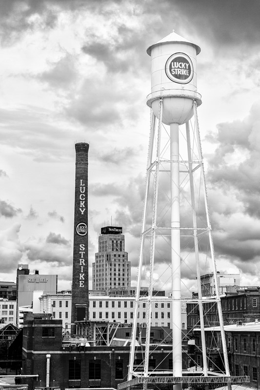 Lucky Strike Tower at American Tobacco in Durham, NC